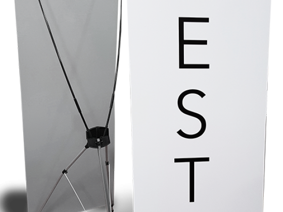 Stainless Steel Retractable Banner Stand